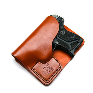 Talon Training Ruger LCP/LCP II Wallet Holster Brown Right Hand No Laser