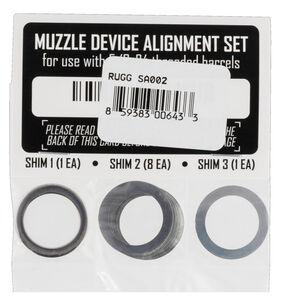 Rugged Suppressors Shim Kit 5/8x24