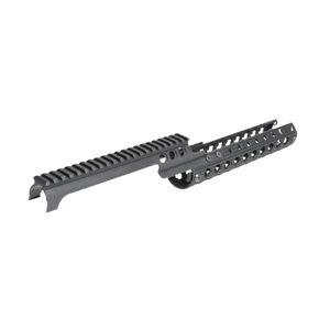 Troy Industries HK33 Drop In Rail Aluminum Black SRAI-G33-0KBT-00