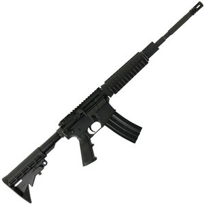 "Anderson AM15 AR-15 Semi Auto Rifle 5.56 NATO 16"" Barrel 30 Rounds A2 Handguard Collapsible Stock Black"