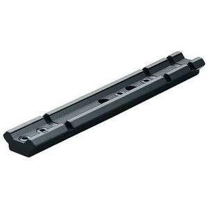 Leupold Rifleman Mounting Series One Piece Weaver Style Base Remington 4/6/750/7400/7600 Machined Aluminum Matte Black Finish 56512