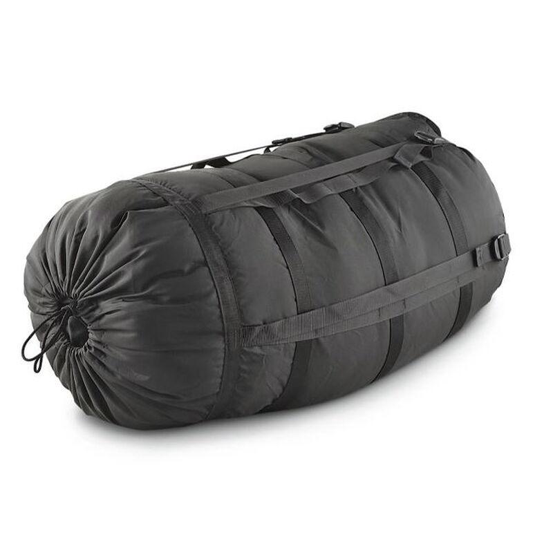 ECWS Nine Strap Black Nylon Stuff Sack  NSN: 8465-01-398-5428