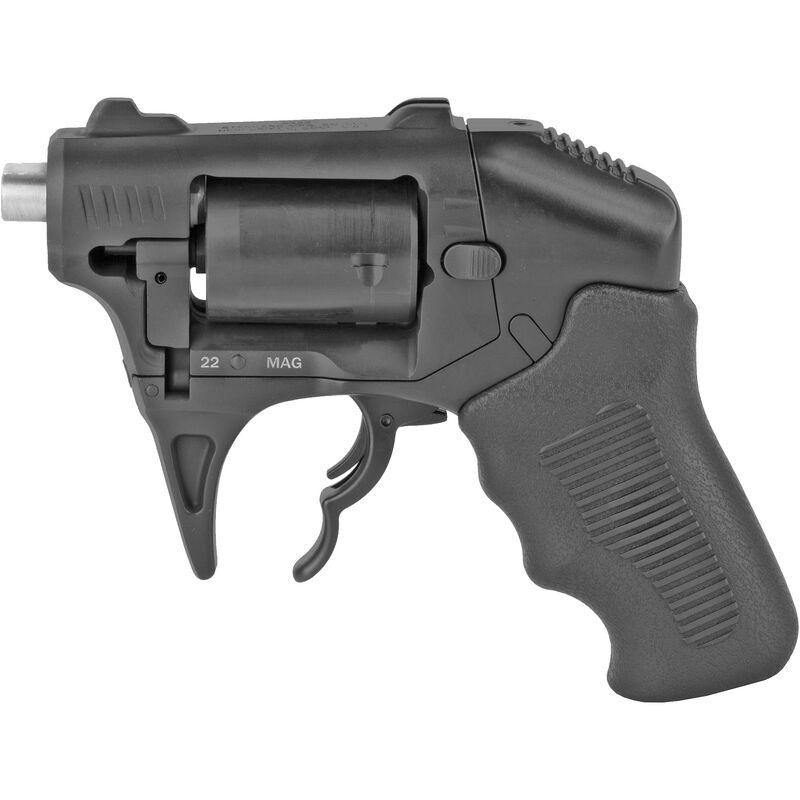 "Standard Manufacturing S333 Thunderstruck .22 WMR Double Barrel DA Revolver 1.25"" Barrel 8 Rounds Aluminum Frame Black Finish"
