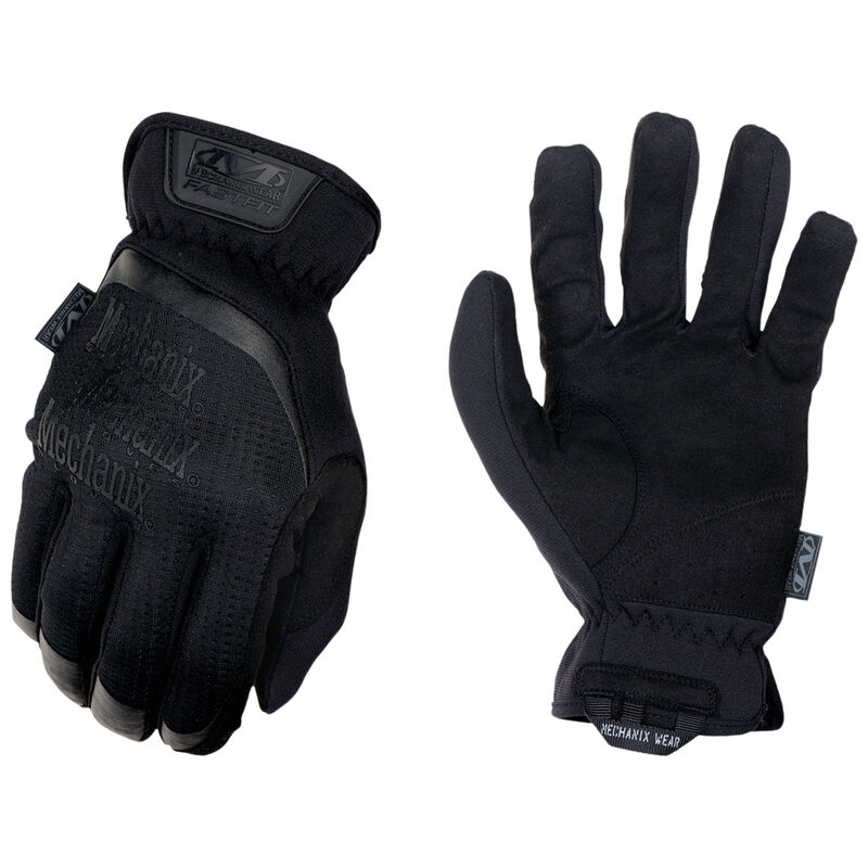 Mechanix Wear FastFit Covert Small Black Synthetic Leather Touchscreen