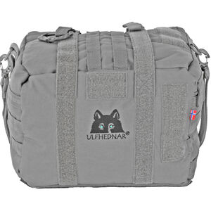 """Ulfhednar Shooting Support Pillow """"Fatboy"""" 13.7""""x 9.8"""" x 7.8"""" Gray"""