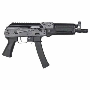 "Kalashnikov USA KP-9 9mm Luger AK Style Semi Auto Pistol 9.25"" Threaded Barrel 30 Rounds Polymer Handguard Matte Black Finish"