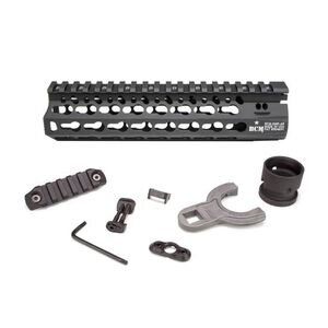 "Bravo Company Manufacturing KMR Alpha 8 AR-15 KeyMod Free Float Handguard 8"" Aluminum Black BCM-KMR-A8-556-BLK"