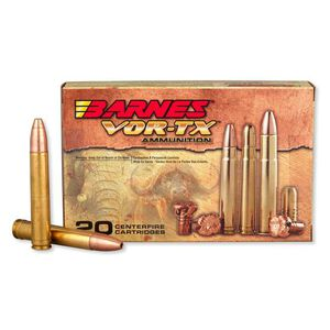 Barnes .458 Winchester Magnum Ammunition 20 Rounds TSX FB 450 Grains