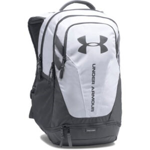 Under Armour Hustle 3.0 Backpack White/Graphite
