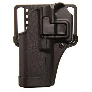 BLACKHAWK! SERPA CQC Belt/Paddle Holster For GLOCK 43 Left Hand Polymer Black 410568BK-L