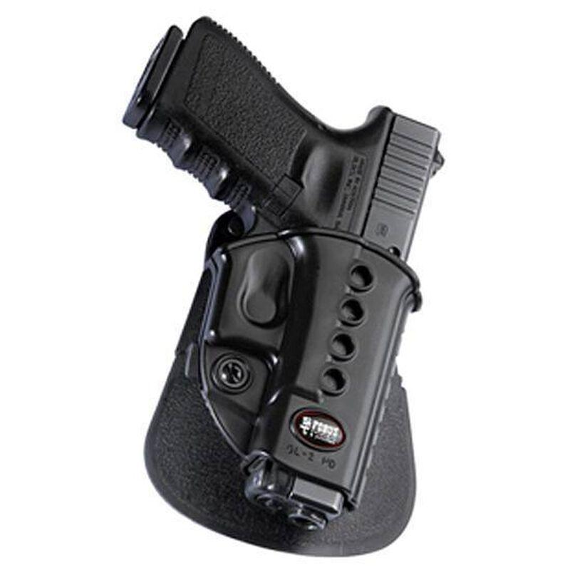 Fobus Evolution Roto-Paddle/Belt Holster CZ P-06/S&W M&P Right Hand Polymer Black SWMPRP