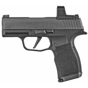 "SIG Sauer P365X RomeoZero Micro-Compact 9mm Luger Semi Auto Pistol 3.1"" Barrel 12 Rounds Romeo Zero Red Dot Polymer Frame Matte Black Finish"
