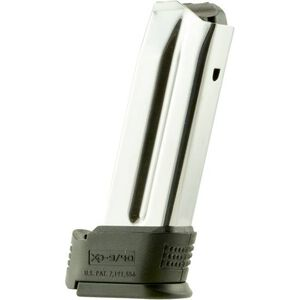 Springfield Armory XD Sub-Compact Magazine 9mm Luger 10 Rounds with X-Tension Stainless XD0923BS