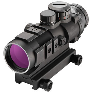 Burris AR-332 AR-15 Fixed 3x32mm Prism Sight Ballistic 3x Reticle CR2032 Battery .50 MOA Adjustments Aluminum Housing Matte Black Finish