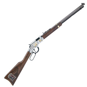 "Henry Golden Boy Freemasons Tribute Edition .22 LR Lever-Action Rifle, 20"" Barrel, 16 Rounds, Blued Steel/Walnut"
