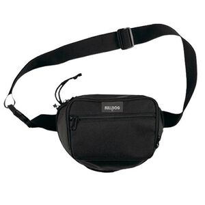 "Bulldog Cases Small Fanny Pack 9""x7"" Nylon Black BD850"