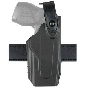 Safariland Model 7520 Axon Taser X26/X26P 7TS SLS EDW Clip-On Belt Holster Right Hand SafariSeven Basket Black