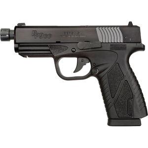 "Bersa BP CC 9mm Luger Semi Auto Pistol 4"" Threaded Barrel 8 Rounds Hi-Impact Polymer Frame Matte Black"