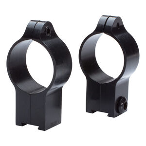 Talley Manufacturing 30mm Rings Low Height For CZ 452/455/512/513 11mm Dovetail Steel Black