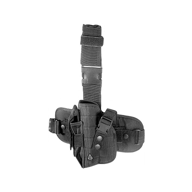 VIPER Drop Leg Holster LEFT Hand side Air Pistol Airsoft Black Special Ops New