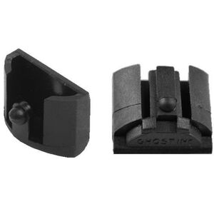 Ghost Grip Plugs For GLOCK Gen 4 Polymer Black 2 Pack GHO_GPG4X2
