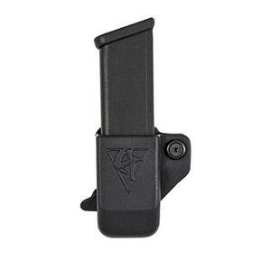 Comp-Tac Single Magazine Pouch Belt Clip Left Side Carry Fits S&W M&P Shield 9/40 Kydex Black