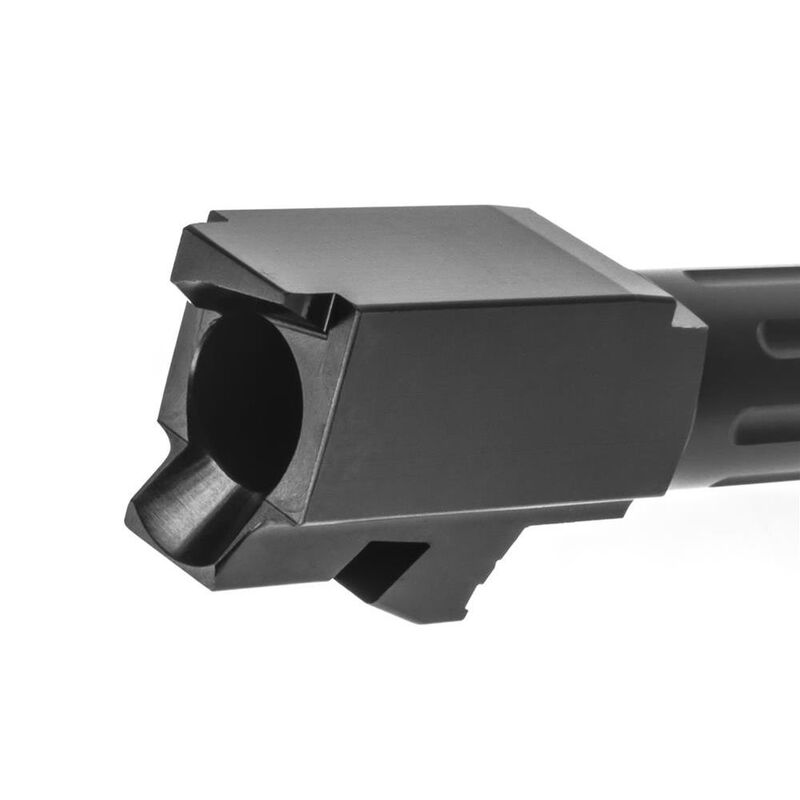 Lone Wolf AlphaWolf Barrel For GLOCK 23/32 9mm Conversion Fluted Stainless Black AW-239N