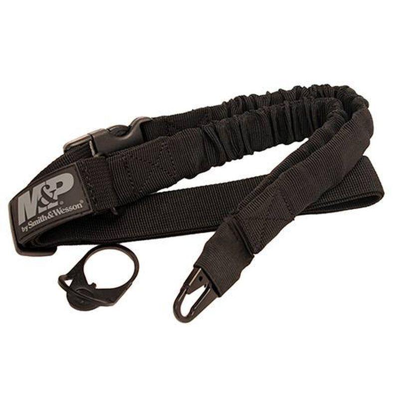 Smith & Wesson M&P Single Point Sling Kit Ambidextrous End Plate Nylon Matte Black