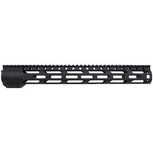 "Trinity Force MX-15 12"" M-LOK Free Float Rail Aluminum Black"