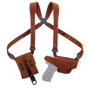 Galco Classic Lite 2.0 Shoulder for Beretta 92F/FS and Similar Holster Right Hand Leather Natural