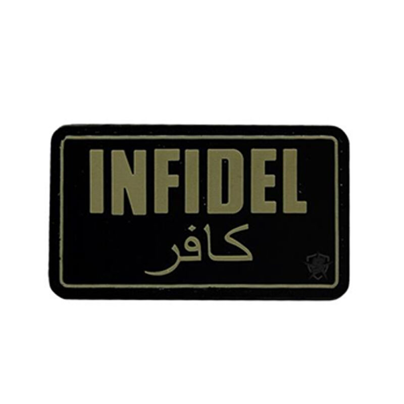 5ive Star Gear PVC Morale Patch Infidel