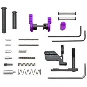 ARMASPEC AR 10 Builders Kit No Grip Or Trigger Stainless Steel Purple