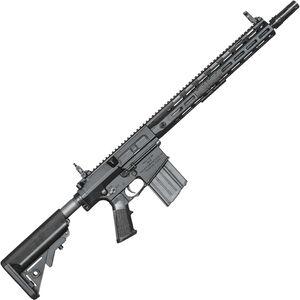 "Knights Armament SR-25 E2 ACC Semi Auto Rifle .308 Win 16"" Barrel 20 Rounds M-LOK URX Handguard Black"