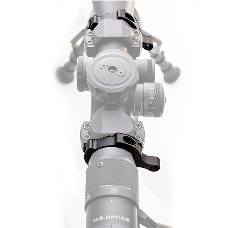 "ZeroBravo Rapid Engagement Offset Sights 1"" Tube 6061-T6 Aluminum Mil-Spec Anodizing Matte Black REOS1214"