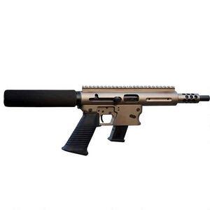 "TNW Aero Survival Semi Auto Pistol 9mm 8"" Barrel 33 Rounds Aluminum Dark Earth"