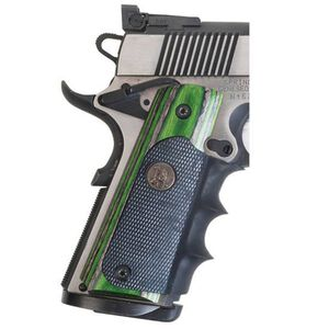 Pachmayr American Legend Grips 1911 Full Size Laminate Evergreen Camo 00432