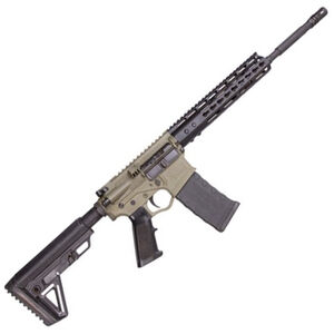 "ATI Omni Hybrid Maxx AR-15 5.56 NATO Semi Auto Rifle 16"" Barrel 30 Rounds KeyMod Hand Guard Carbine Alpha Collapsible Stock Battlefield Green/Black"