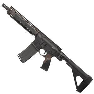 "Daniel Defense MK18 AR-15 5.56 NATO Semi Auto Pistol 10.3"" Barrel 32 Round Magazine DD MK18 RIS II Hand Guard SB-Tactical SOB Pistol Stabilizing Brace FDE/Black Finish"