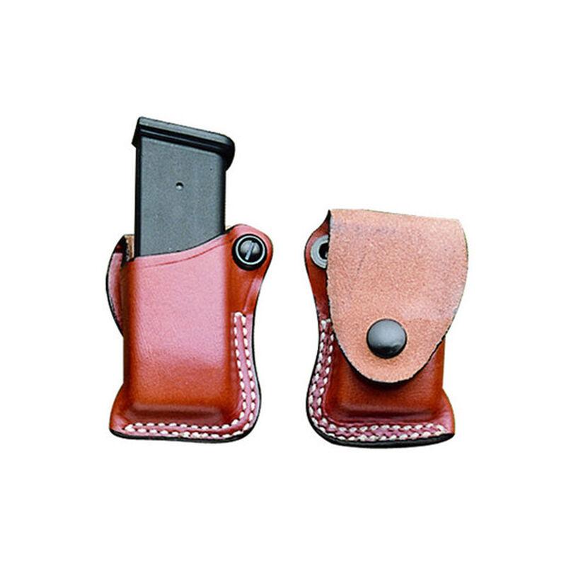 DeSantis FTU Magazine Pouch Right Hand Fits GLOCK 43 Leather Tan