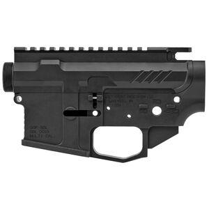 Grey Ghost Precision AR MKII Billet AR-15 Upper/Lower Receiver Set Billet Aluminum Hard Coat Anodized Matte Black