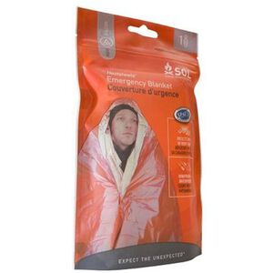 "Adventure Medical Kits SOL Series One Person Emergency Blanket 56""x84"" 0140-1222"