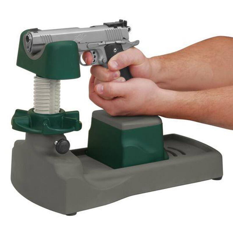 Caldwell Pistolero Handgun Shooting Rest Polymer Green and Gray