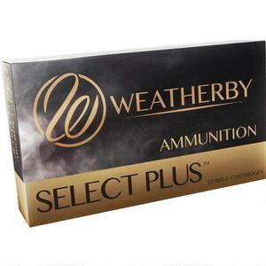 Weatherby Select Plus .257 Wby Mag Ammunition 20 Rounds 100 Grain Barnes TTSX Lead Free 3570 fps