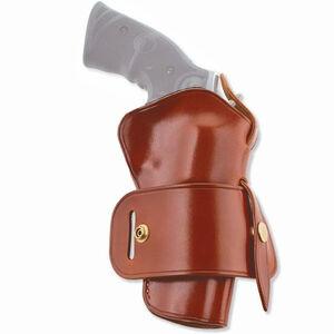 "Galco Wheelgunner Belt Holster fits Taurus Judge Revolver Ambidextrous 3"" Barrel 2-1/2"" Cylinder Leather Tan Finish"