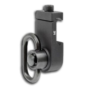 Midwest Industries QD Offset Front Sling Adapter Picatinny Aluminum Black MCTAR-08HDO