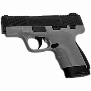 "Honor Guard Sub-Compact 9mm Luger Semi Auto Pistol 3.2"" Barrel 7 Rounds Manual Safety Polymer Battleship Gray"