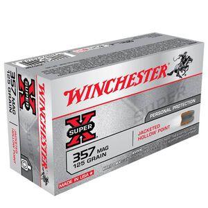 Winchester Super X .357 Magnum Ammunition 50 Rounds, JHP, 125 Grain