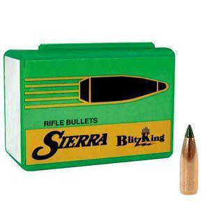"Sierra .25 Caliber .257"" Diameter 70 Grain BlitzKing Polymer Tip Flat Base Bullets 100 Count 1605"