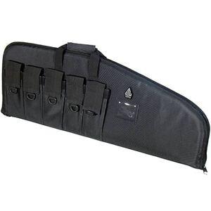 "Leapers UTG DC Series Tactical Rifle Soft Case 34"" Nylon Black PVC-DC34B-A"
