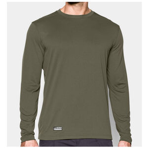 Under Armour Performance Men's Tactical UA Tech Long Sleeve T-Shirt Polyester Large Black 1248196001LG